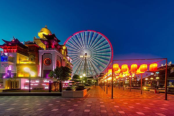 Asia Park khu vui chơi giải trí bậc nhất