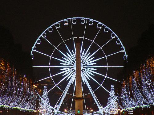 Thủ đô Paris trong mùa Giáng sinh